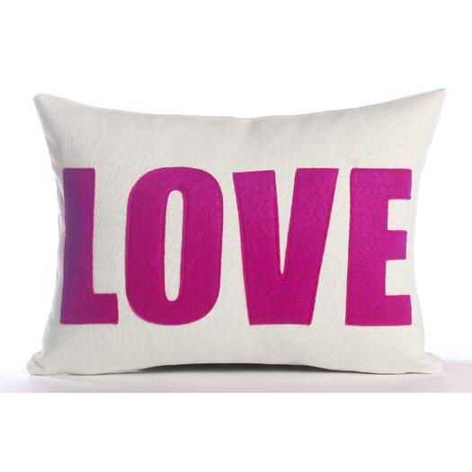 "Alexandra Ferguson ""Love"" Decorative Pillow"