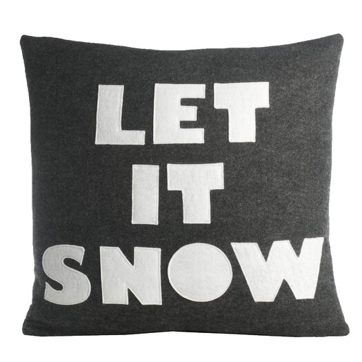 Let It Snow Decorative Throw Pillow