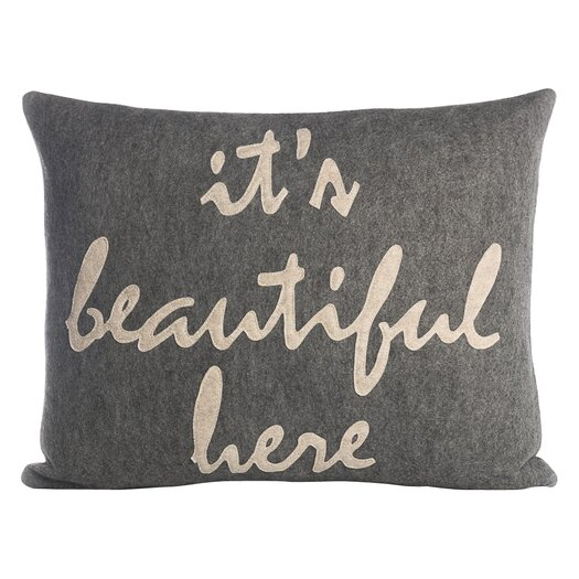 Alexandra Ferguson It's Beautiful Here Throw Pillow