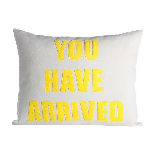 Alexandra Ferguson You Have Arrived Decorative Throw Pillow