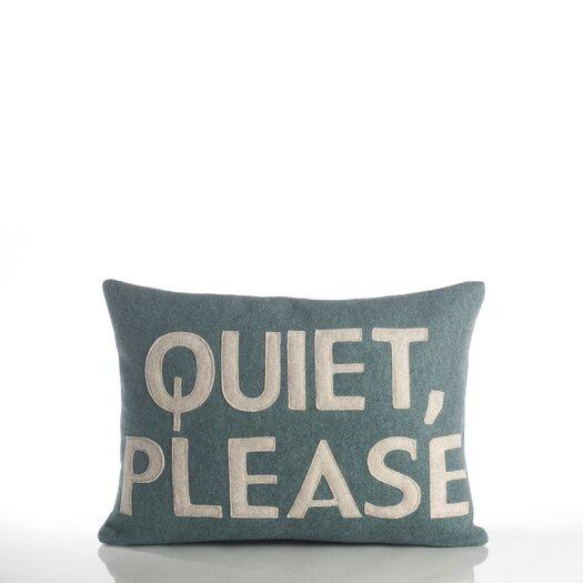 Alexandra Ferguson Quiet Please Decorative Pillow