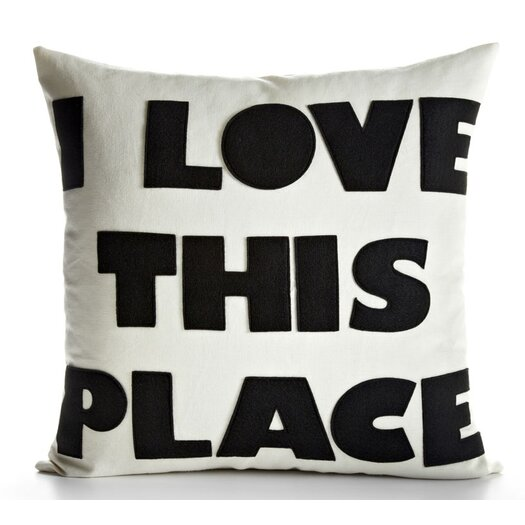 Alexandra Ferguson I Love This Place Throw Pillow
