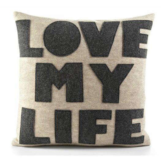 Love My Life Decorative Throw Pillow