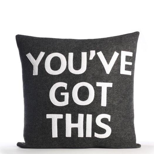 """Alexandra Ferguson """"You've Got This"""" Pillow"""