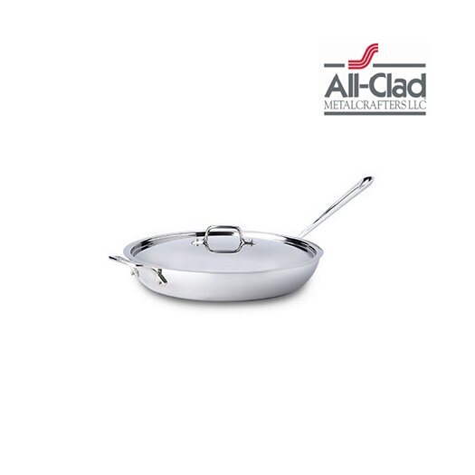 All-Clad Stainless Steel French Skillet