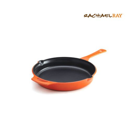 "Rachael Ray Cast Iron 12"" Skillet"