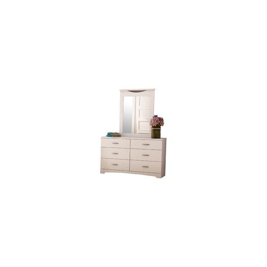 South Shore Step One 6 Drawer Double Dresser