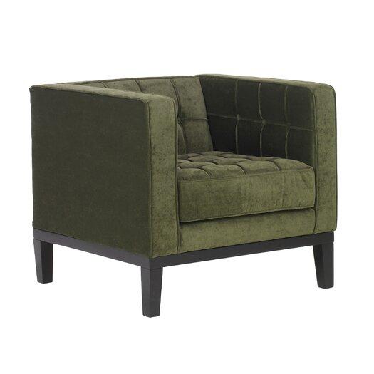 Armen Living Urbanity Roxbury Tufted Chair