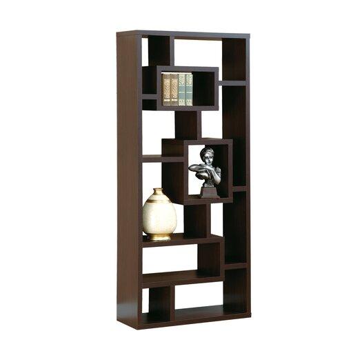 """Hokku Designs Bradshaw 71"""" Unique Bookcase"""