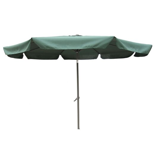International Caravan St. Kitts 10' Aluminum Patio Umbrella with Crank/Tilt