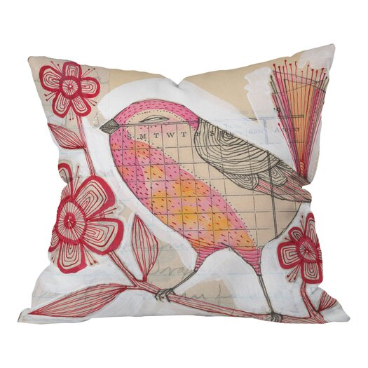 DENY Designs Cori Dantini Wee Lass Woven Polyester Throw Pillow