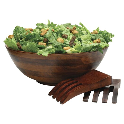Lipper International Cherry Salad Bowl 3 Piece Set