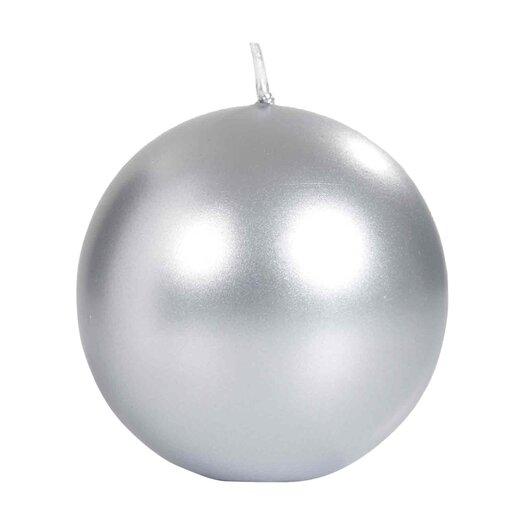 Light In the Dark Metallic Ball Candle