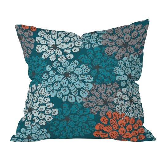 DENY Designs Khristian A Howell Greenwich Gardens 3 Woven Polyester Throw Pillow