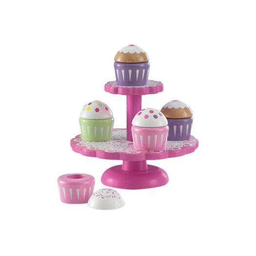 KidKraft 6 Piece Cupcake Stand Set
