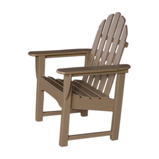 POLYWOOD® Adirondack Dining Arm Chair
