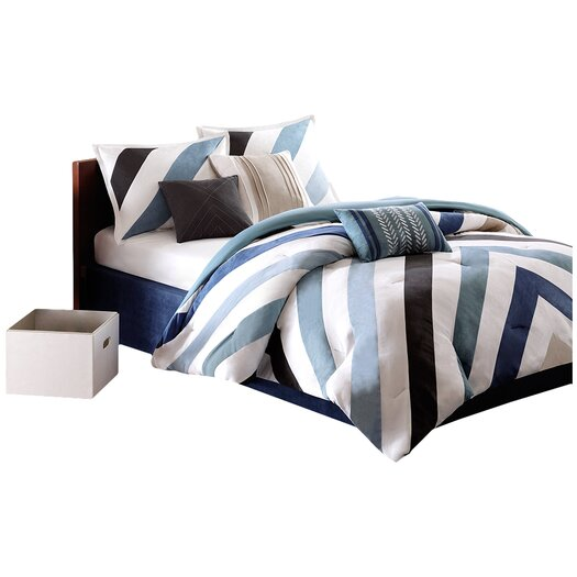 Madison Park Mercer 7 Piece Comforter Set