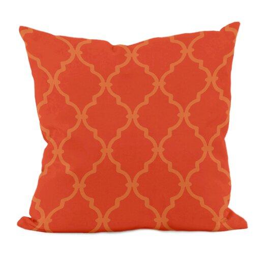 E By Design Trellis Throw Pillow