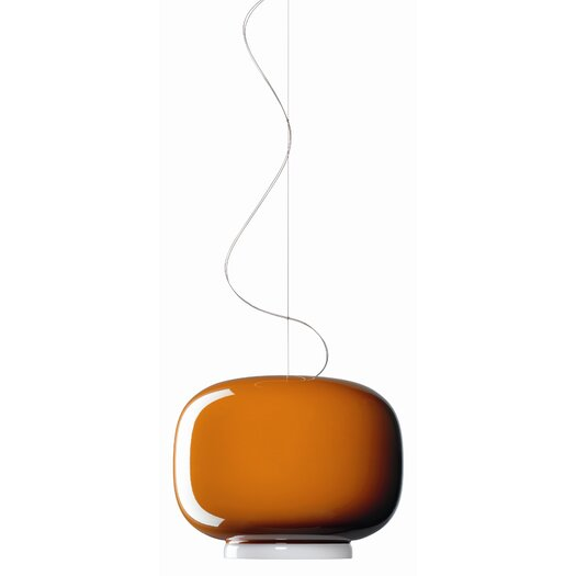 Foscarini Chouchin 1 Suspension Lamp in Orange