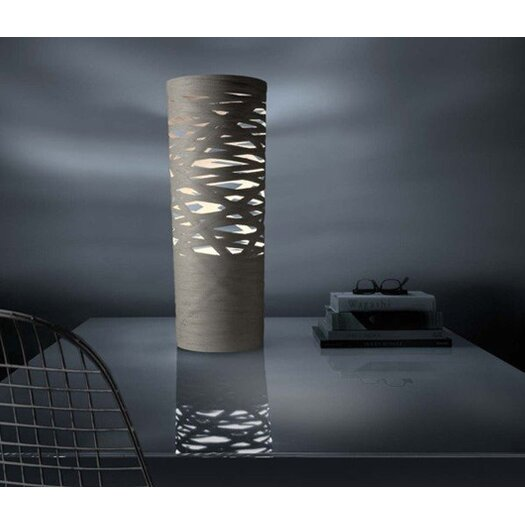 "Foscarini Tress 24.1"" H Table Lamp with Drum Shade"