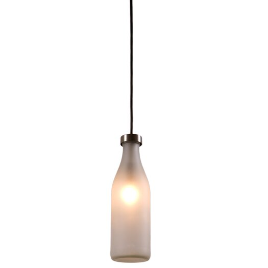 Droog Single Milk Bottle Lamp by Tejo Remy for Droog