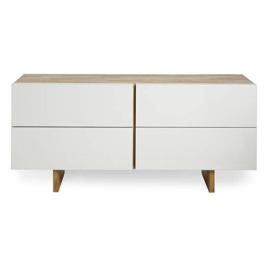 LAX Series LB 4 Drawer Dresser