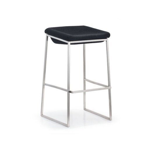 "dCOR design Lids 28.7"" Bar Stool with Cushion"