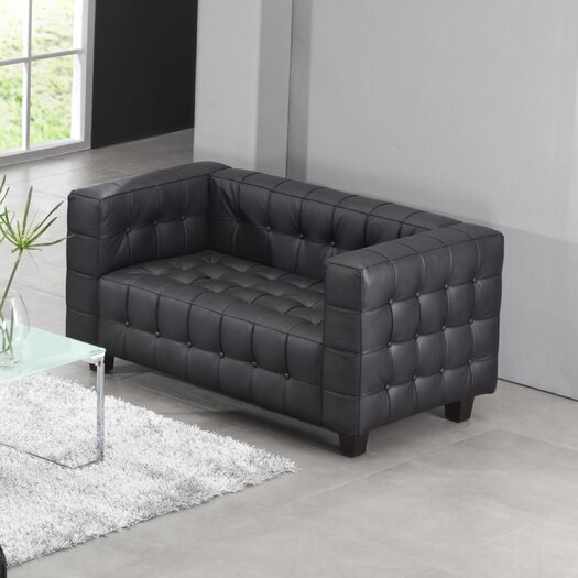 dCOR design Button Loveseat