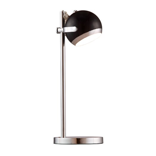 """dCOR design Cyber 20.7"""" H Table Lamp with Bowl Shade"""