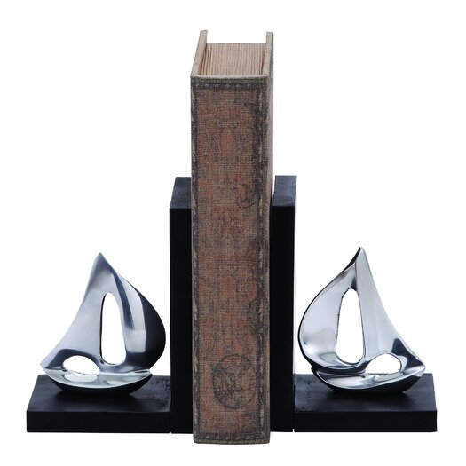 Woodland Imports Sailboat Book Ends