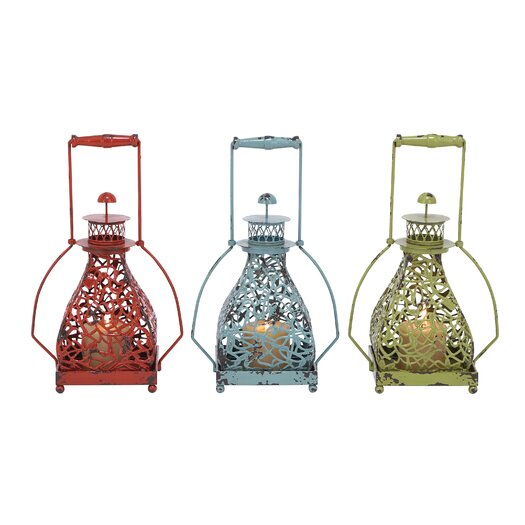 Woodland Imports Metal Lanterns