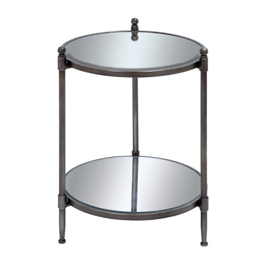 Woodland Imports Mirror End Table