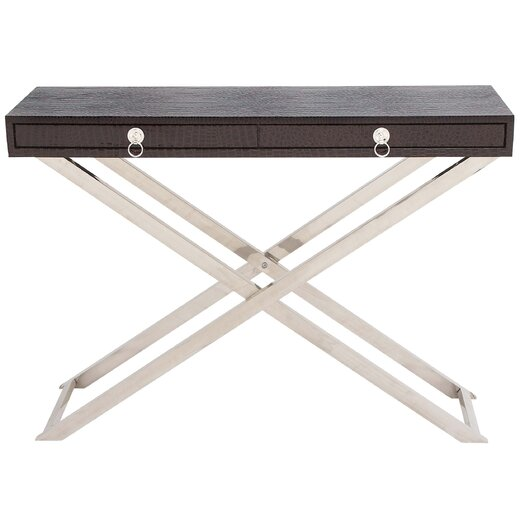 Woodland Imports Sleek Console Table