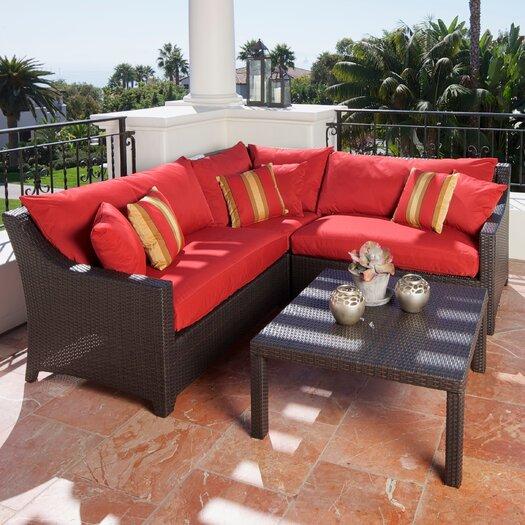 RST Outdoor Cantina 2 Piece Sectional Sofa Set