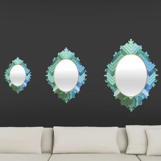 DENY Designs Gabi Azul Baroque Mirror