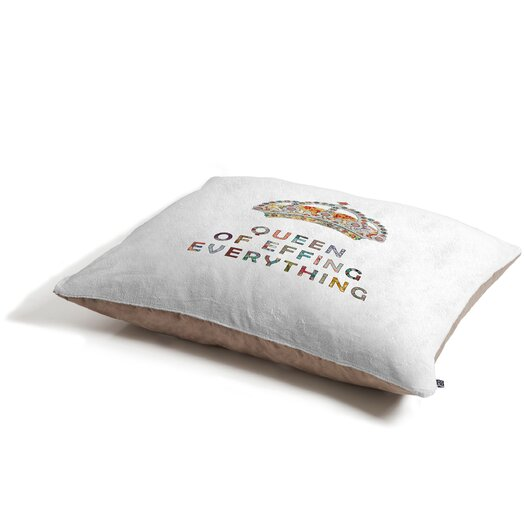DENY Designs Bianca Green Her Daily Motivation Pet Bed