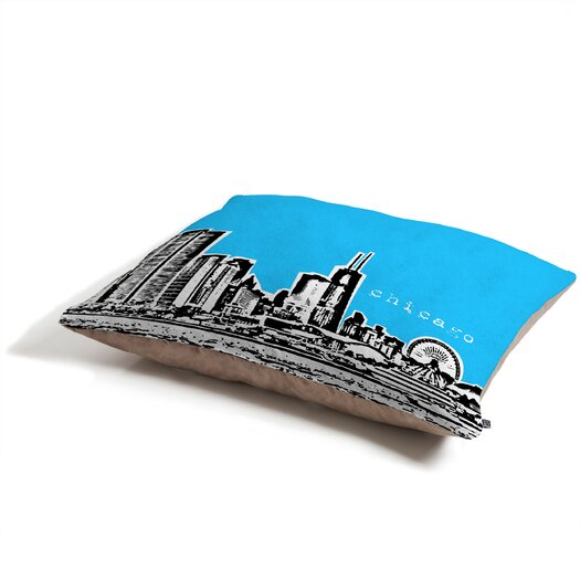 DENY Designs Bird Ave Chicago Pet Bed