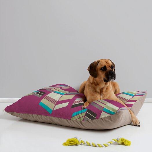 DENY Designs Gabi Chevron Berry Pet Bed