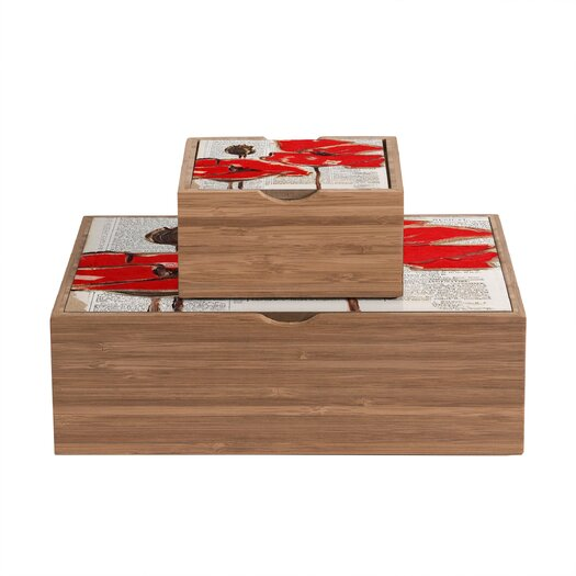 DENY Designs Garima Dhawan Rain 6 Storage Box