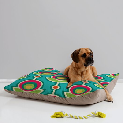 DENY Designs Juliana Curi Retro Soft Pet Bed