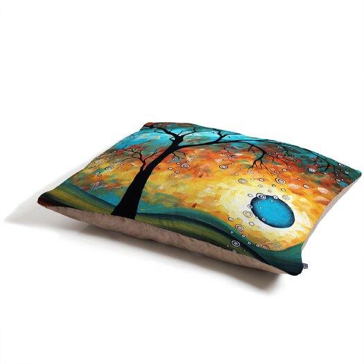 DENY Designs Madart Inc. Aqua Burn Pet Bed