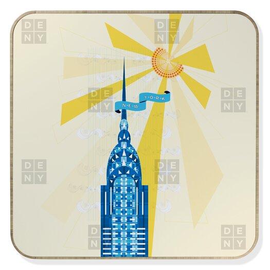 DENY Designs Jennifer Hill New York City Chrysler Building Jewelry Box