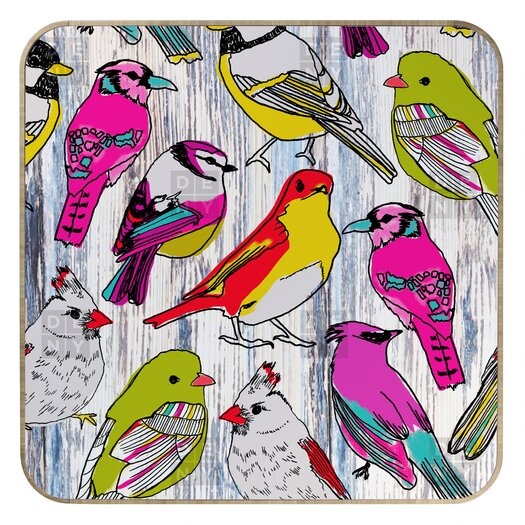 DENY Designs Mary Beth Freet Couture Home Birds Jewelry Box