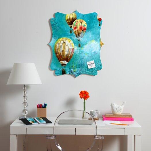 DENY Designs Land Of Lulu Herd of Balloons 2 Quatrefoil Memo Board