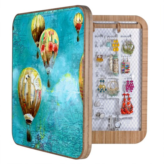 DENY Designs Land Of Lulu Herd of Balloons Jewelry Box
