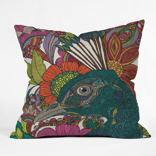 DENY Designs Valentina Ramos Alexis and The Flowers Polyester Throw Pillow