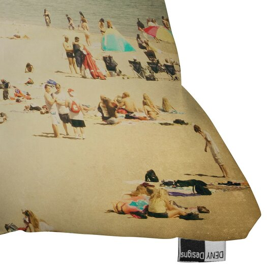 DENY Designs Shannon Clark Vintage Beach Polyester Throw Pillow