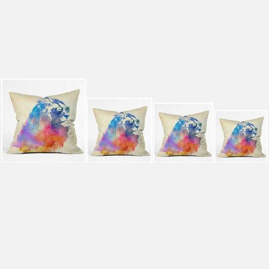 DENY Designs Robert Farkas Woven Polyester Throw Pillow