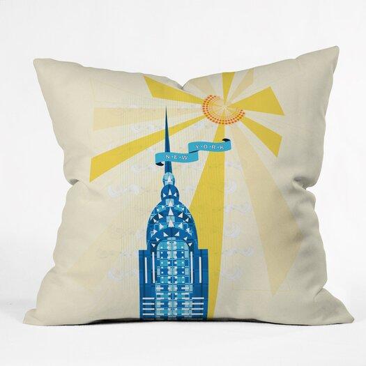 DENY Designs Jennifer Hill Woven Polyester Throw Pillow