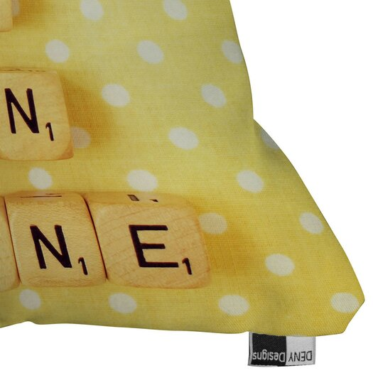 DENY Designs Happee Monkee You Are My Sunshine Throw Pillow